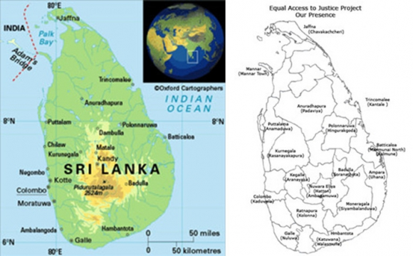 Sri Lanka Political Map.Anthropology Politics And Place In Sri Lanka South Asian