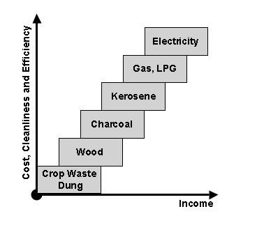 "indoor air pollution health and economic well being figure 1 the classic ""energy ladder"""