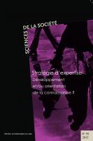 Stratégie d'expertise : développement et/ou orientation de la connaissance : couverture