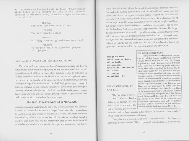 Displaying words in narrative configurations, reimagining print ...