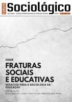 Fraturas sociais e educativas: Desafios para a sociologia da educação