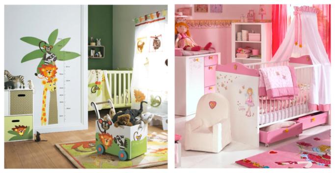 Préparer une chambre pour l\'enfant à venir, un enjeu de genre ?