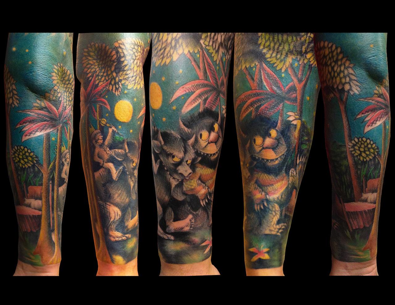 La Merveille Dans La Peau Le Tatouage Feerique Ou Le Nouveau Pays