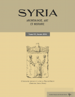 Couverture Syria 93-2016