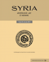 Couverture Syria 94-2017