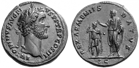Crowning the Emperor an unorthodox image of Claudius