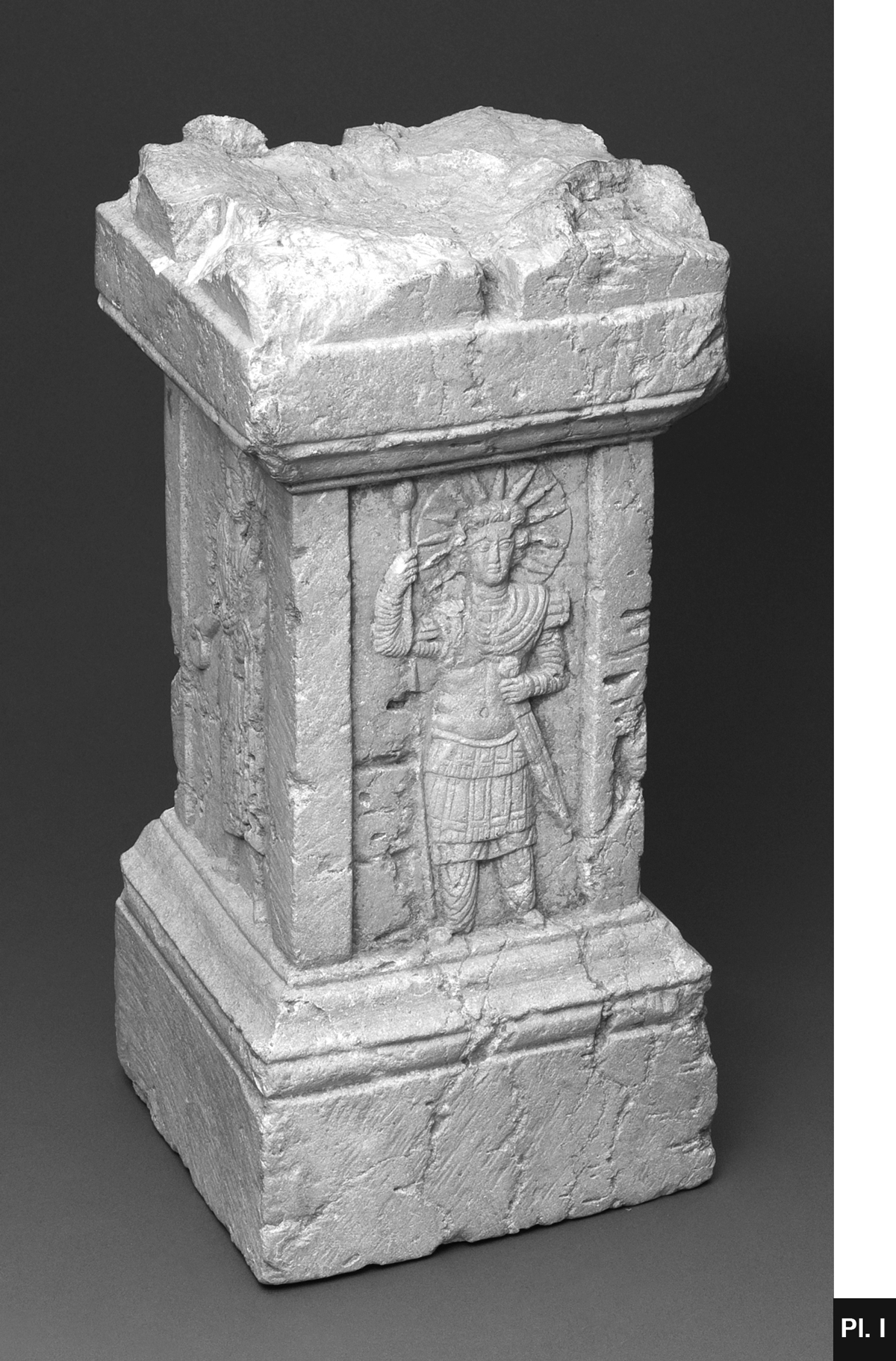 A Palmyrene Altar In The Cincinnati Art Museum