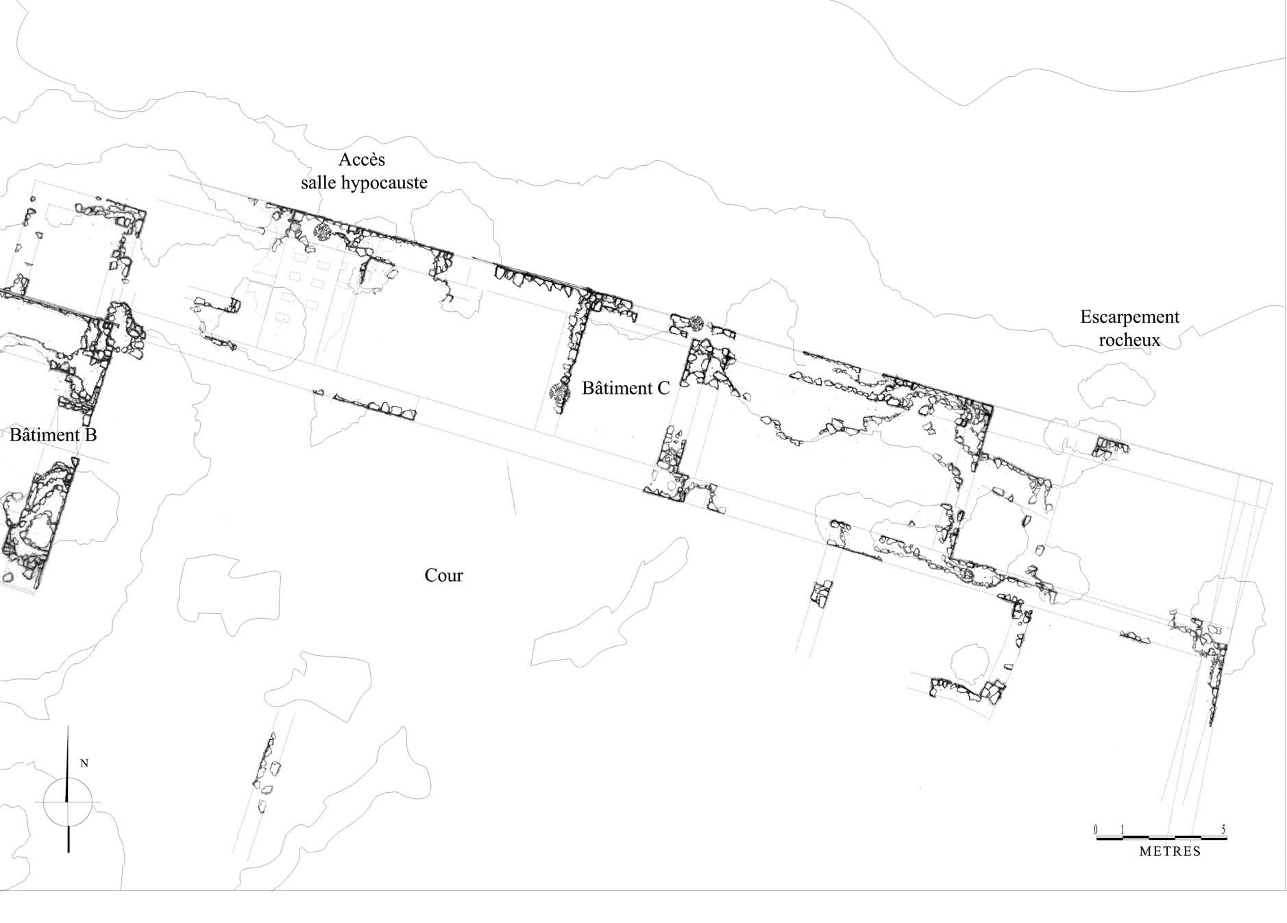 Le complexe m di val de khirbat al d saq shawbak for 125k plan