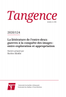 Couverture Tangence 124