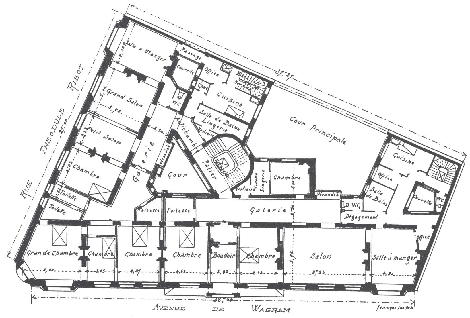 Plan maison original modle original maison chambres - Plan de maison original ...