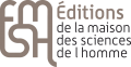 Logo Editions de la Maison des Sciences de l'Homme