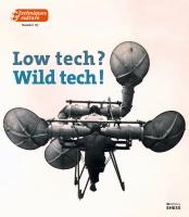 Couverture Low tech ? Wild tech ! TC67