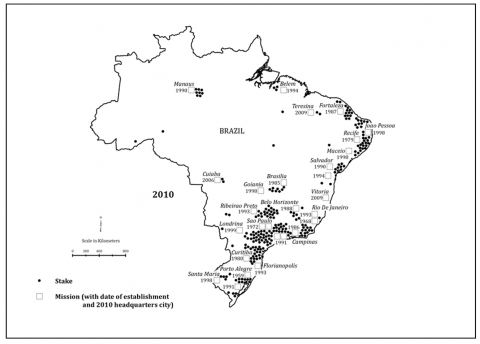 Figure 4 : Brazil - Stakes and Missions 2010