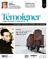 Couverture Témoigner n° 119, 2014
