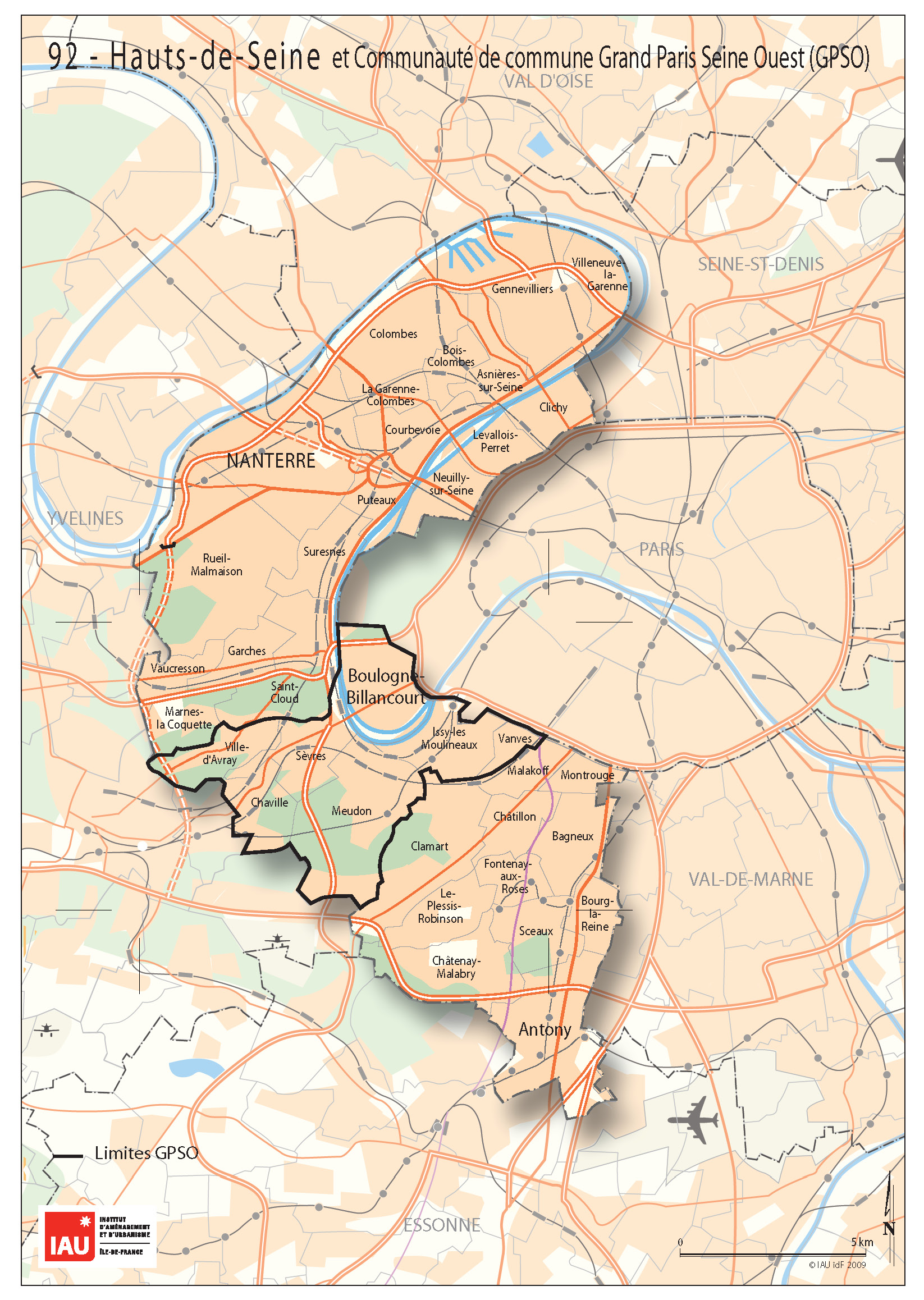 Carte Des Villes Du Sud Ouest