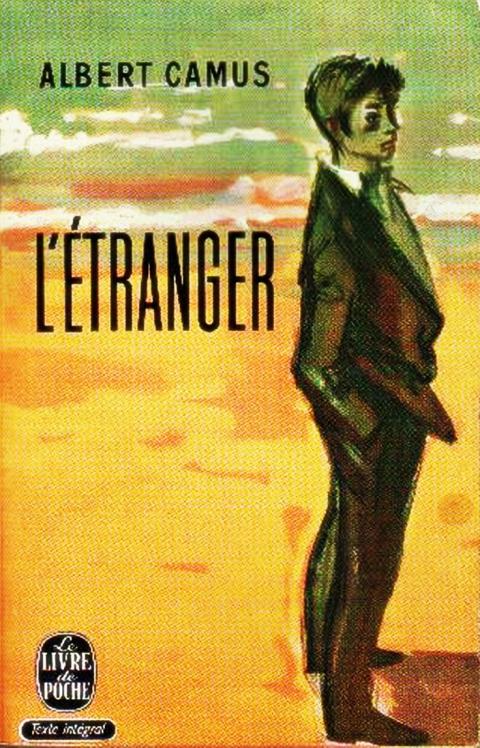 Illustration 3 : Première de couverture de L'Étranger (1942).