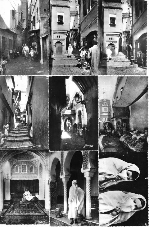Illustration 6 La Casbah DAlger Livret De 9 Cartes Postales Alger