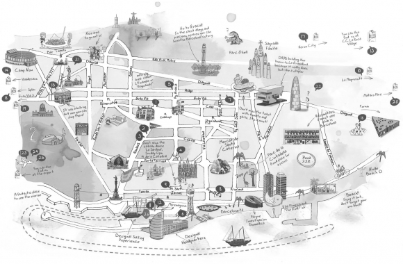 Carte Barcelone Place Despagne.Barcelone Face Au Tourisme De Masse Tourismophobie Et Vivre