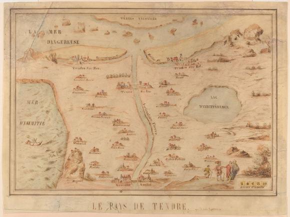 El mapa como metáfora o la espacialización del pensamiento