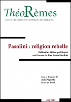 Pasolini : religion rebelle