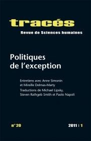 Politiques de l'exception