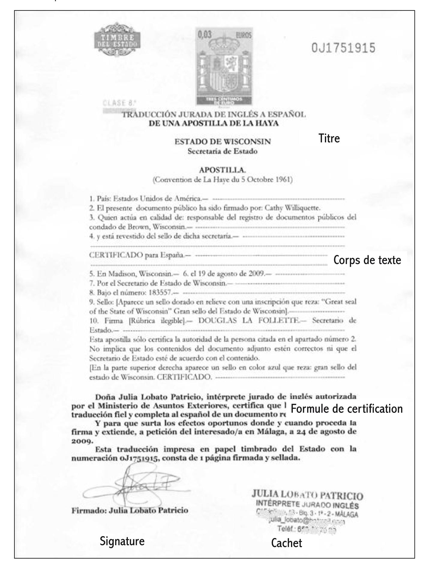 Réalité Professionnelle De La Traduction Assermentée En Espagne