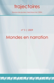 Couverture de Mondes en narration