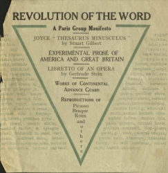 Revolution of the Word