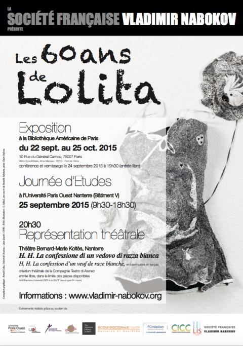 Journée Détudes Les Soixante Ans De Lolita Lolitas