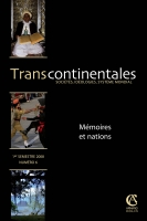 Transcontinentales 6 - Mémoires et nations