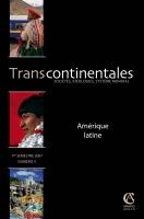 Transcontinentales 4 - Amérique latine