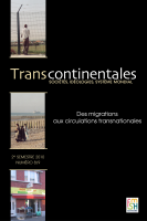 Transcontinentales 8-9 - Des migrations aux circulations transnationales