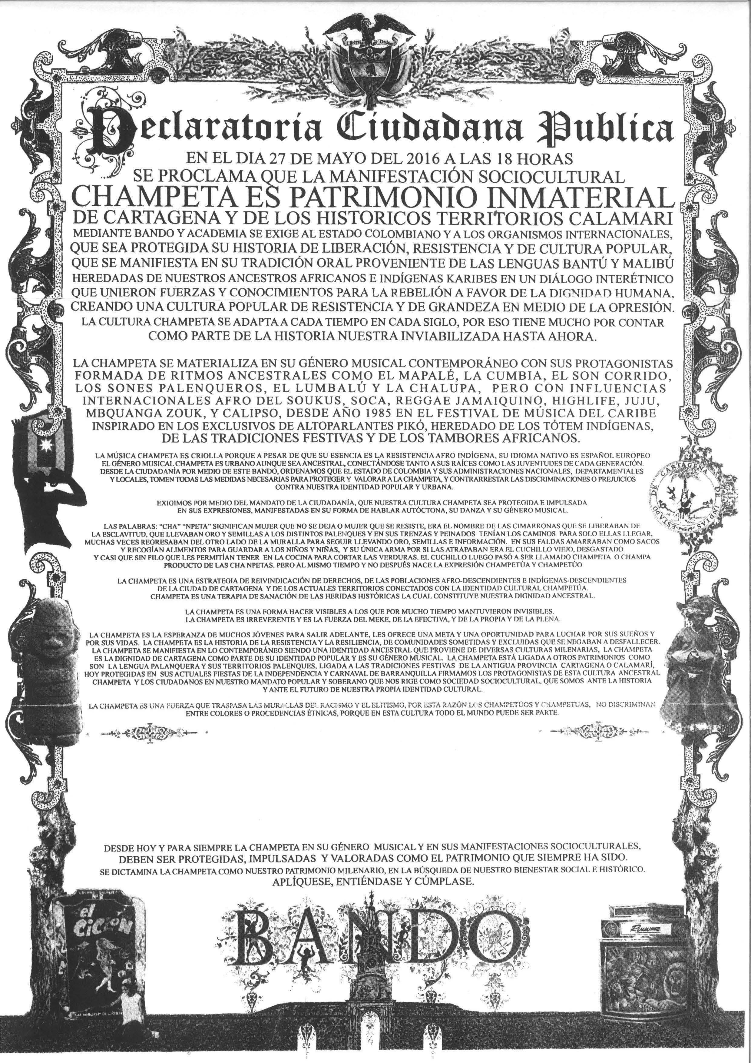 Champeta S Heritage Diasporic Music And Racial Struggle In