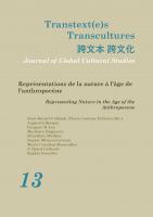Transtext(e)sTranscultures 13
