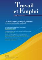 153 : La Garantie jeunes : éléments d'évaluation et de comparaison internationale