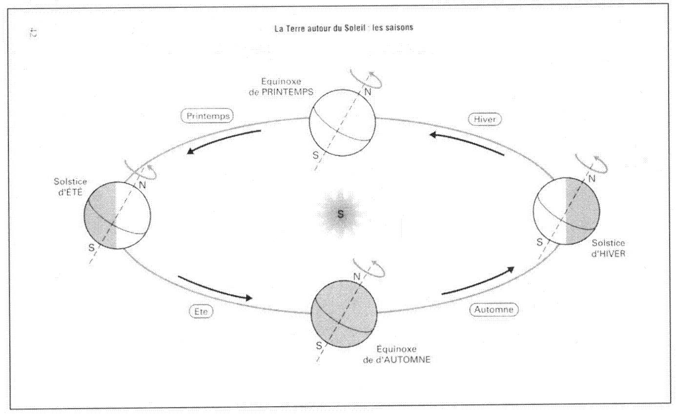 les saisons cycle 3