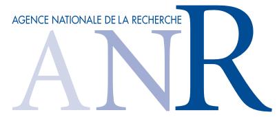 Agence nationale de la recherche (ANR)