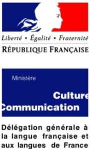 """Résultat de recherche d'images pour """"délégation générale à la langue française et aux langues de france"""""""