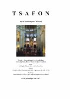 Couverture Tsafon 81