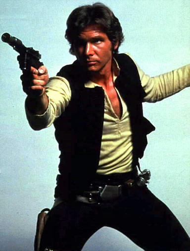 Fig. 1 : Han Solo et Starbuck dans la version 1978