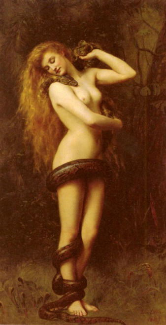 Fig. 3 : Lilith, John Collier, The Atkinson Art Gallery, Southport (Royaume-Uni).