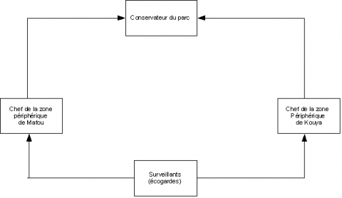 Figure 2. La structure étatique de gestion du PNHN