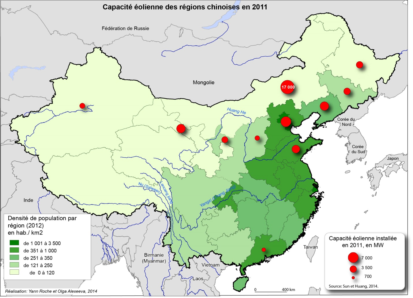 Carte Chine Energie.La Chine En Transition Energetique Un Virage Vers Les