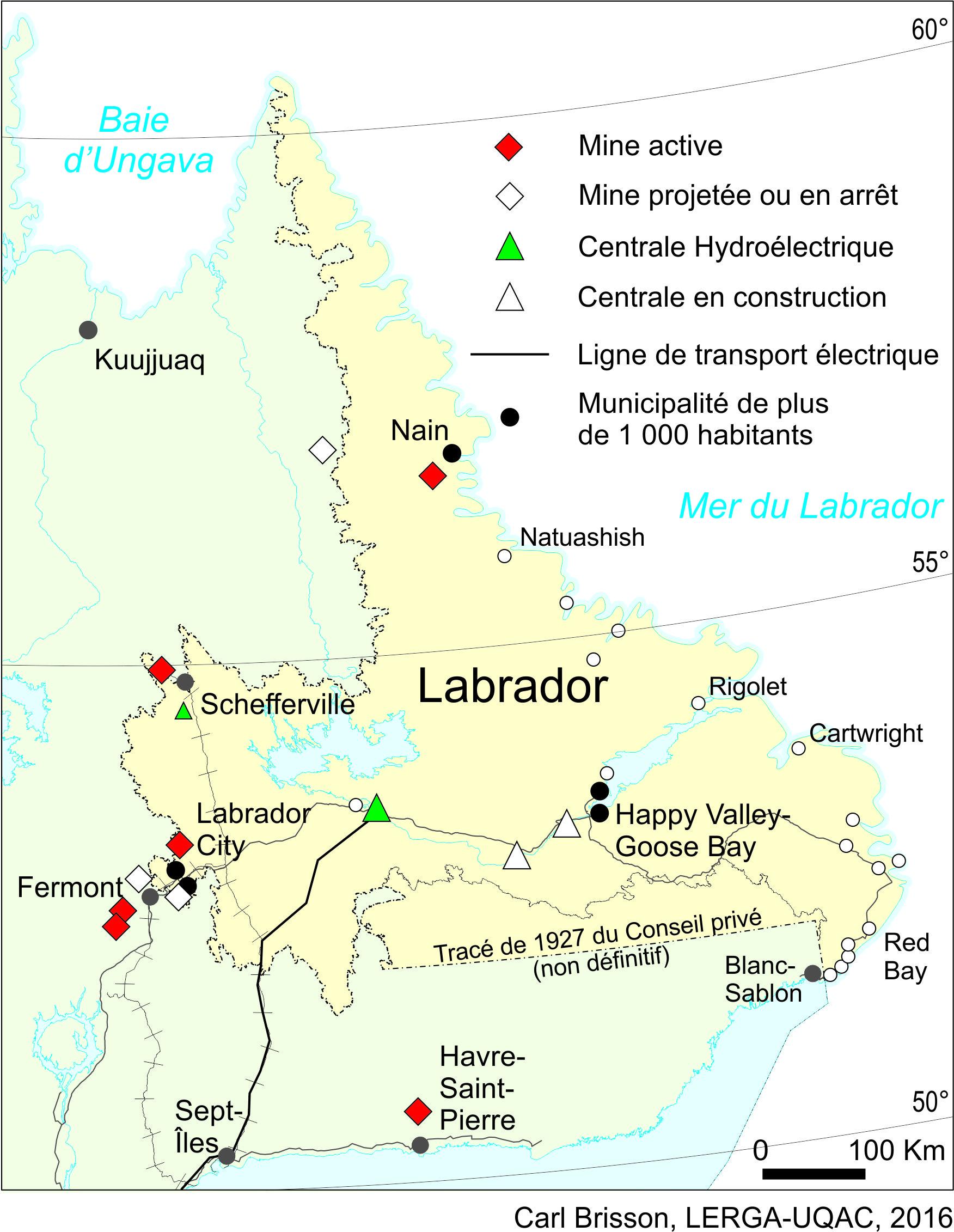 La Frontière Québec Labrador Quels Effets Sur Le Développement Des