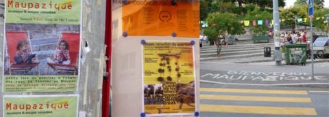 Lieux Espace Affichage De La Ville D Aix Proche Rn