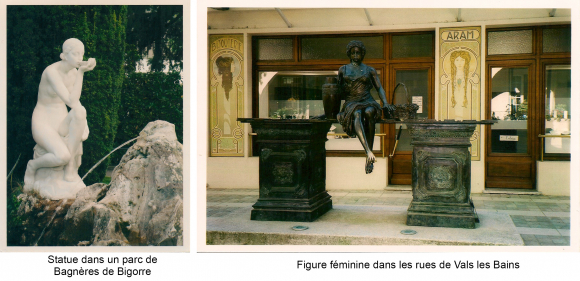 Lust, tranquillity and sensuality in French spa towns in the