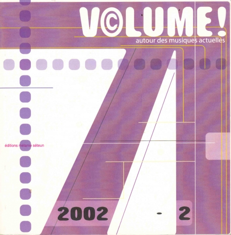 Volume ! Varia 1 : 2 - couverture