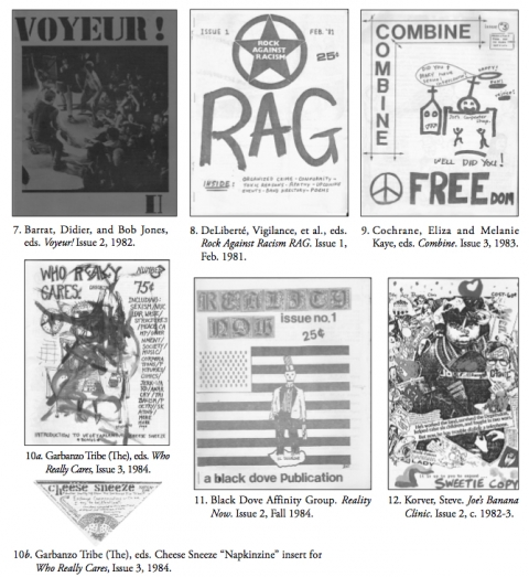 Another selection of fanzine covers